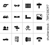 view icons. vector collection...