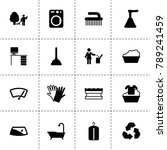 clean icons. vector collection...