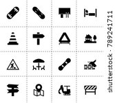 street icons. vector collection ...