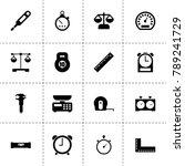 measurement icons. vector...