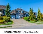 big custom made luxury house...   Shutterstock . vector #789262327