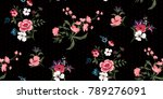 seamless floral pattern in...   Shutterstock .eps vector #789276091