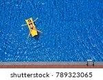 enjoying suntan. vacation... | Shutterstock . vector #789323065