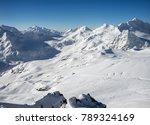 beautiful scenery mountain... | Shutterstock . vector #789324169