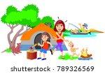 vector art illustration of the... | Shutterstock .eps vector #789326569