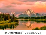 Grand Teton Mountains From...
