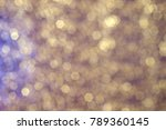 blurred gold weave | Shutterstock . vector #789360145