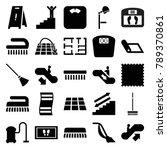 floor icons. set of 25 editable ...   Shutterstock .eps vector #789370861