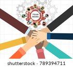 flat design illustration...   Shutterstock . vector #789394711