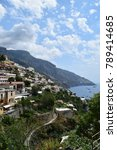 summer in positano coast  | Shutterstock . vector #789414685