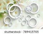 flowers abstraction.... | Shutterstock . vector #789415705