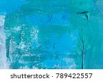 abstract oil paint texture on... | Shutterstock . vector #789422557