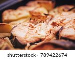 red fish. pink salmon roasted... | Shutterstock . vector #789422674