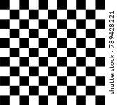 black and white checkered... | Shutterstock .eps vector #789428221