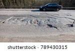 bad russian roads   hole in the ... | Shutterstock . vector #789430315