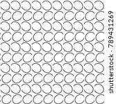 geometric lines vector pattern | Shutterstock .eps vector #789431269