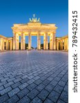classic vertical view of...   Shutterstock . vector #789432415