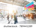 large crowd of anonymous... | Shutterstock . vector #789441289