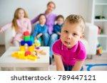 children in kindergarten | Shutterstock . vector #789447121