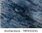 dark black marble texture with... | Shutterstock . vector #789453241