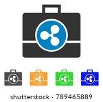 ripple business case icon....   Shutterstock .eps vector #789465889