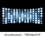 led projection screen | Shutterstock .eps vector #789466519