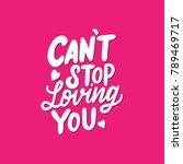 lettering   typography design... | Shutterstock .eps vector #789469717