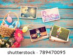 photo album in remembrance and... | Shutterstock . vector #789470095
