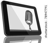 book and tablet computer 3d...   Shutterstock . vector #78947791