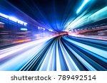 business concept   high speed... | Shutterstock . vector #789492514