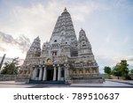 bodh gaya  mahabodhi temple ... | Shutterstock . vector #789510637