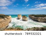 the loch ard gorge is part of... | Shutterstock . vector #789532321