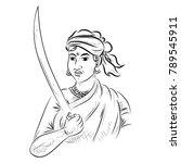 illustration of indian...   Shutterstock .eps vector #789545911