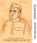 illustration of vintage indian...   Shutterstock .eps vector #789545929