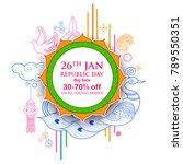illustration of indian... | Shutterstock .eps vector #789550351