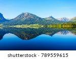 wolfgangsee lake in austria....   Shutterstock . vector #789559615