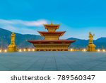 buddha dordenma statue in the... | Shutterstock . vector #789560347