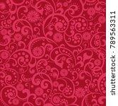 citrus background. grapefruit.... | Shutterstock .eps vector #789563311