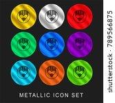 compose 9 color metallic...   Shutterstock .eps vector #789566875