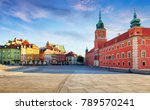 panorama of warsaw old town ... | Shutterstock . vector #789570241