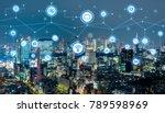 smart city concept. iot... | Shutterstock . vector #789598969