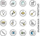 line vector icon set   ski...   Shutterstock .eps vector #789607165