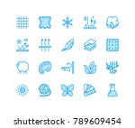 fabric feature  clothes... | Shutterstock .eps vector #789609454
