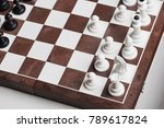 the first moves in the chess... | Shutterstock . vector #789617824