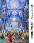very beautiful buddha image in...   Shutterstock . vector #789618955