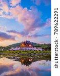 ho kham luang  royal pavilion ... | Shutterstock . vector #789622291