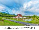 ho kham luang  royal pavilion ... | Shutterstock . vector #789628351