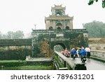 hue  vietnam   10th december... | Shutterstock . vector #789631201