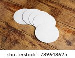 top view and close up of round... | Shutterstock . vector #789648625