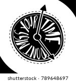 don't miss your time.... | Shutterstock .eps vector #789648697